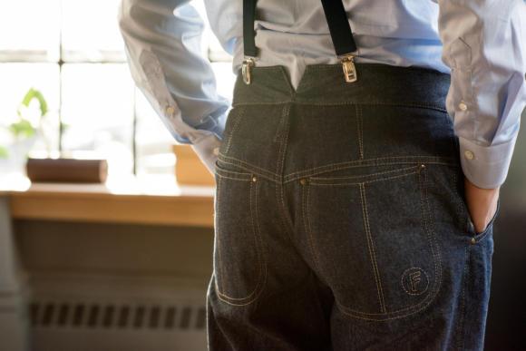 Signor francesco bespoke jeans
