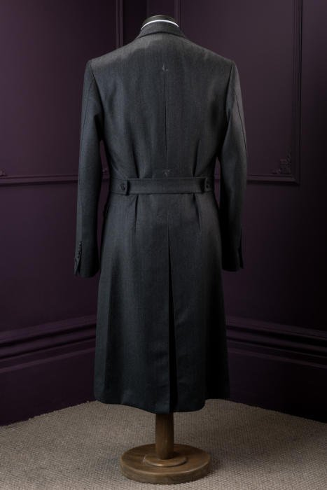Signor francesco bespoke overcoat