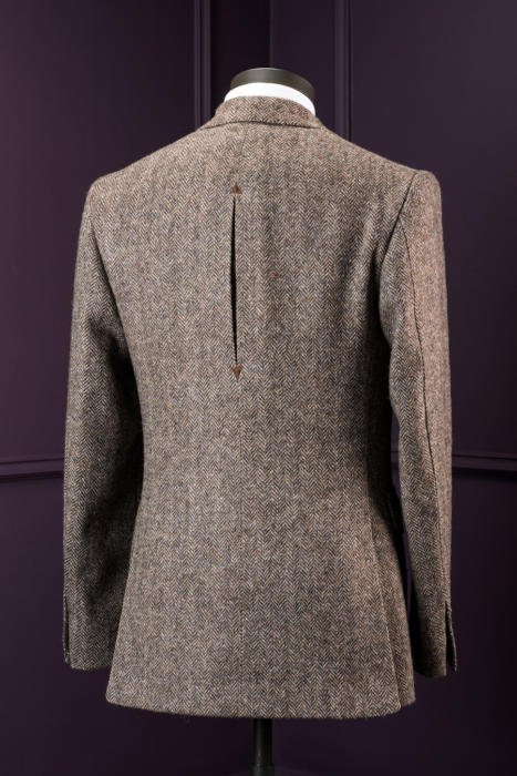 Signor francesco bespoke tweed jacket