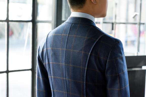 Signor francesco tailor back lap seam