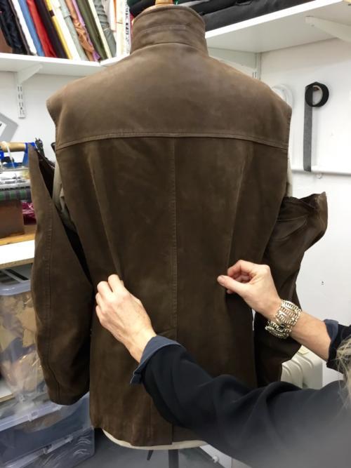 loro piana jacket alteration