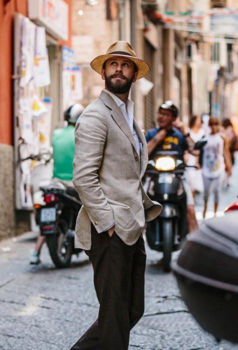 4188fd6d How to dress for very hot weather – Permanent Style