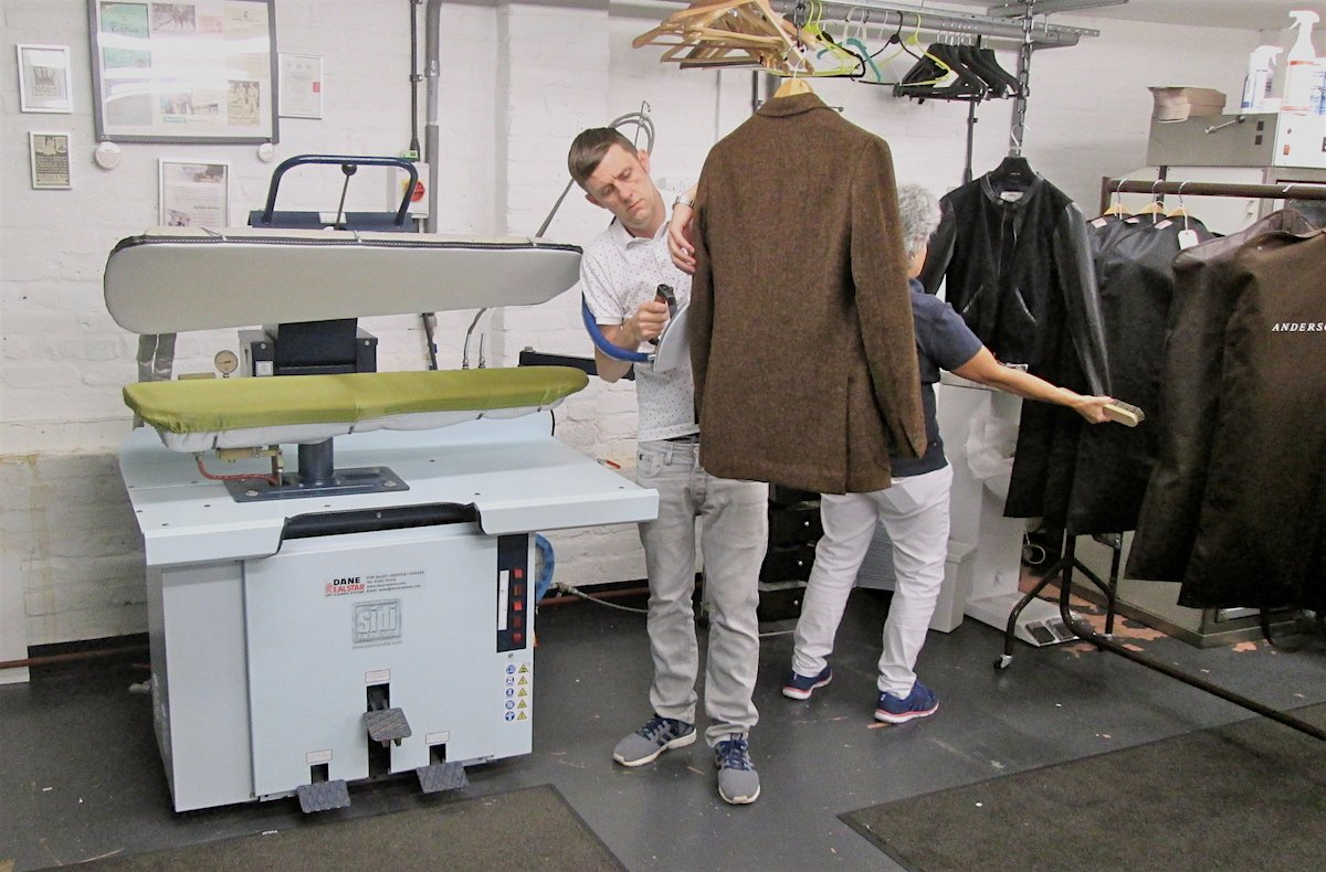 Michael norman dry cleaning previously press2dress for Do dry cleaners steam wedding dresses