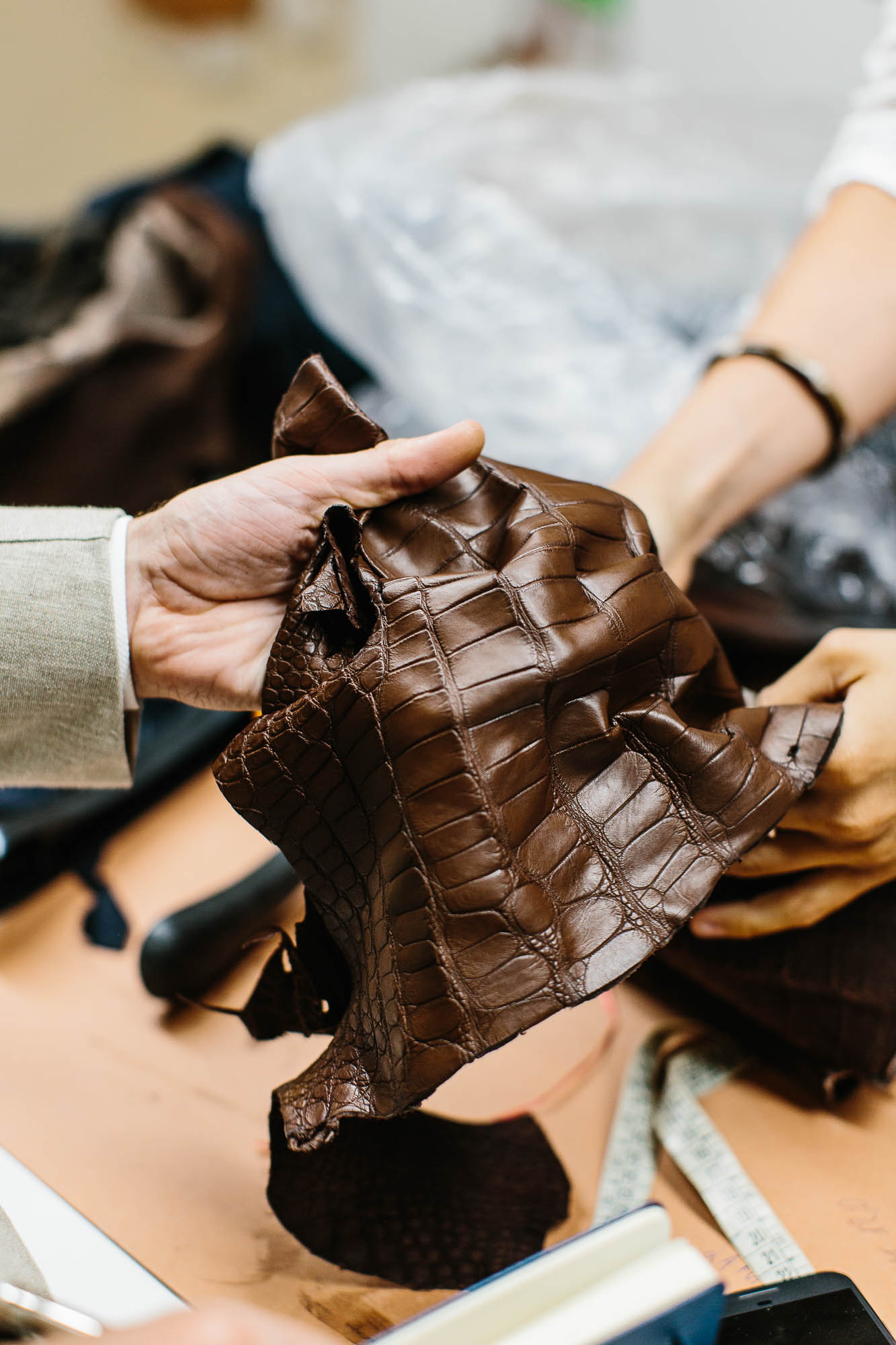 Sartoria melina bespoke neapolitan leather permanent style for What is bespoke leather