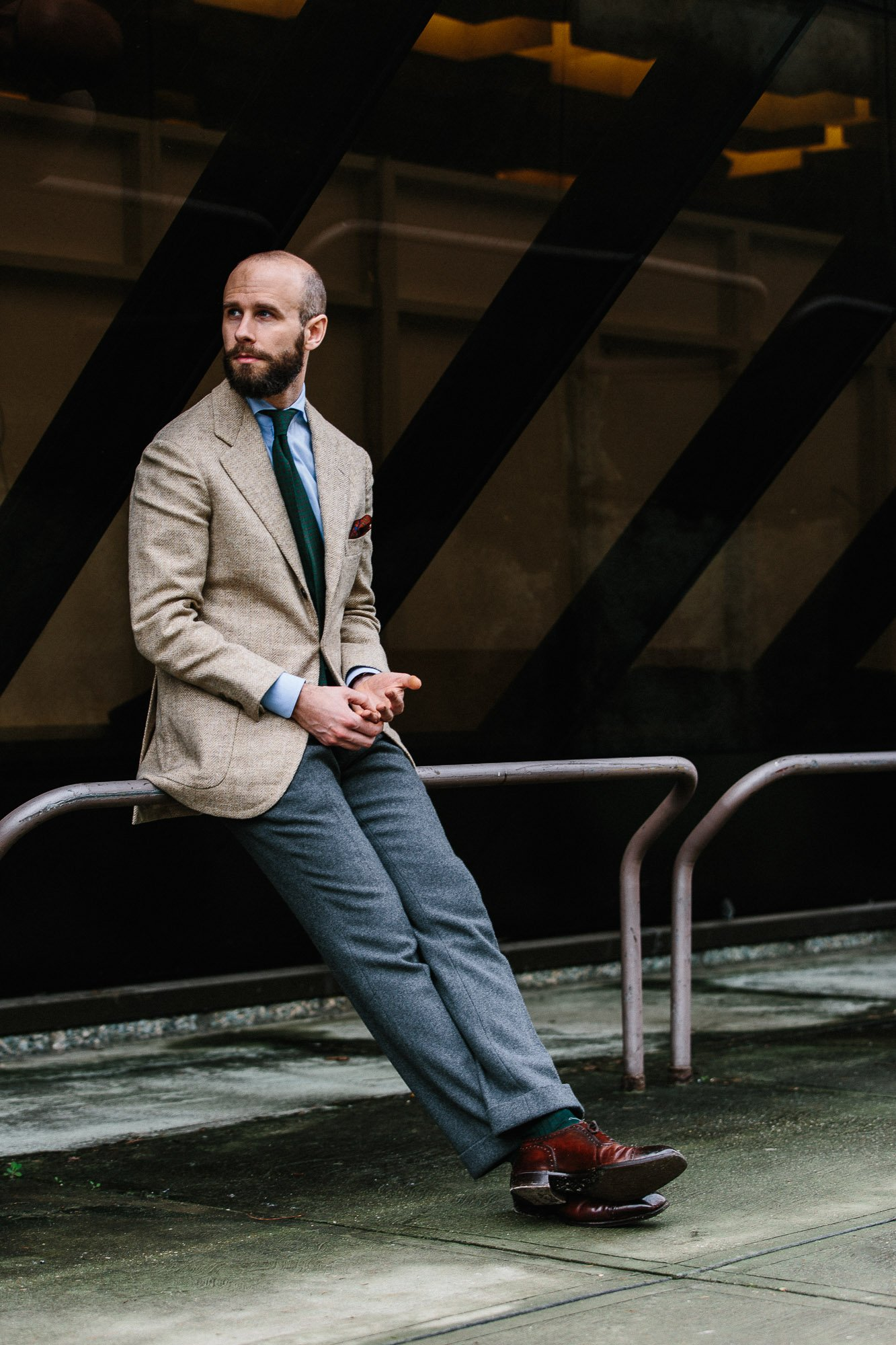 9ed4984dfb0 B Tailor jacket via Robin Pettersson  Review – Permanent Style