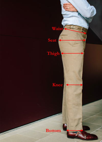Trouser Measurements Style And Proportions Permanent Style