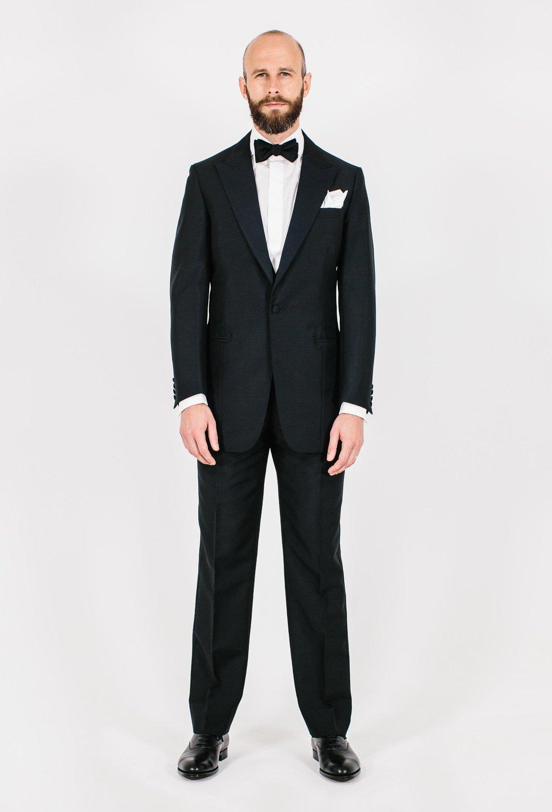 Richard Anderson Tuxedo Style Breakdown Permanent Style