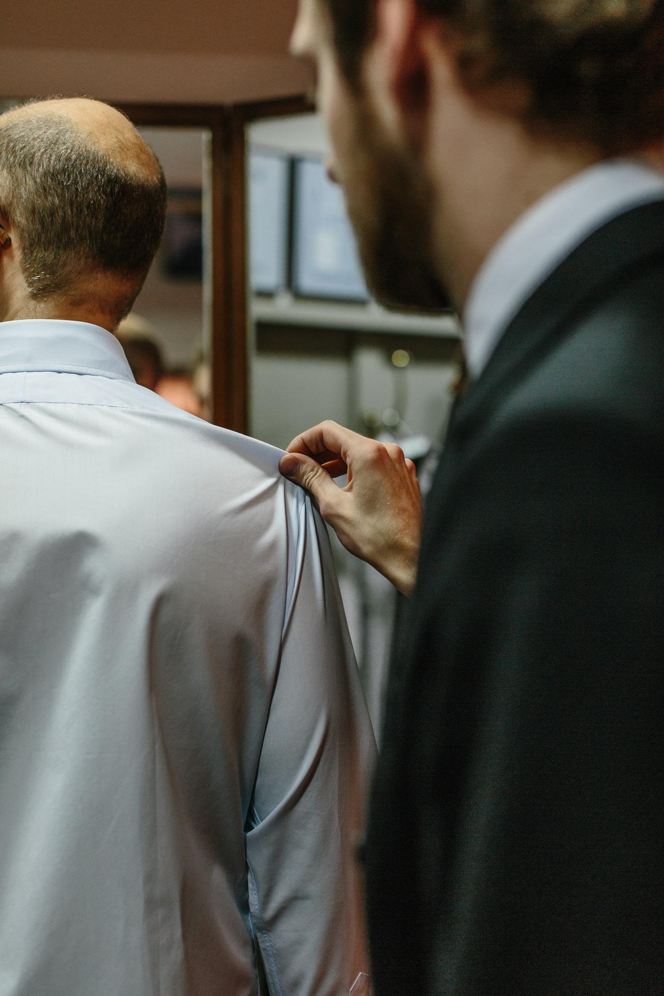 7 Encounter Mens Point Collar Cotton Oxford Long Sleeve Dress Shirt
