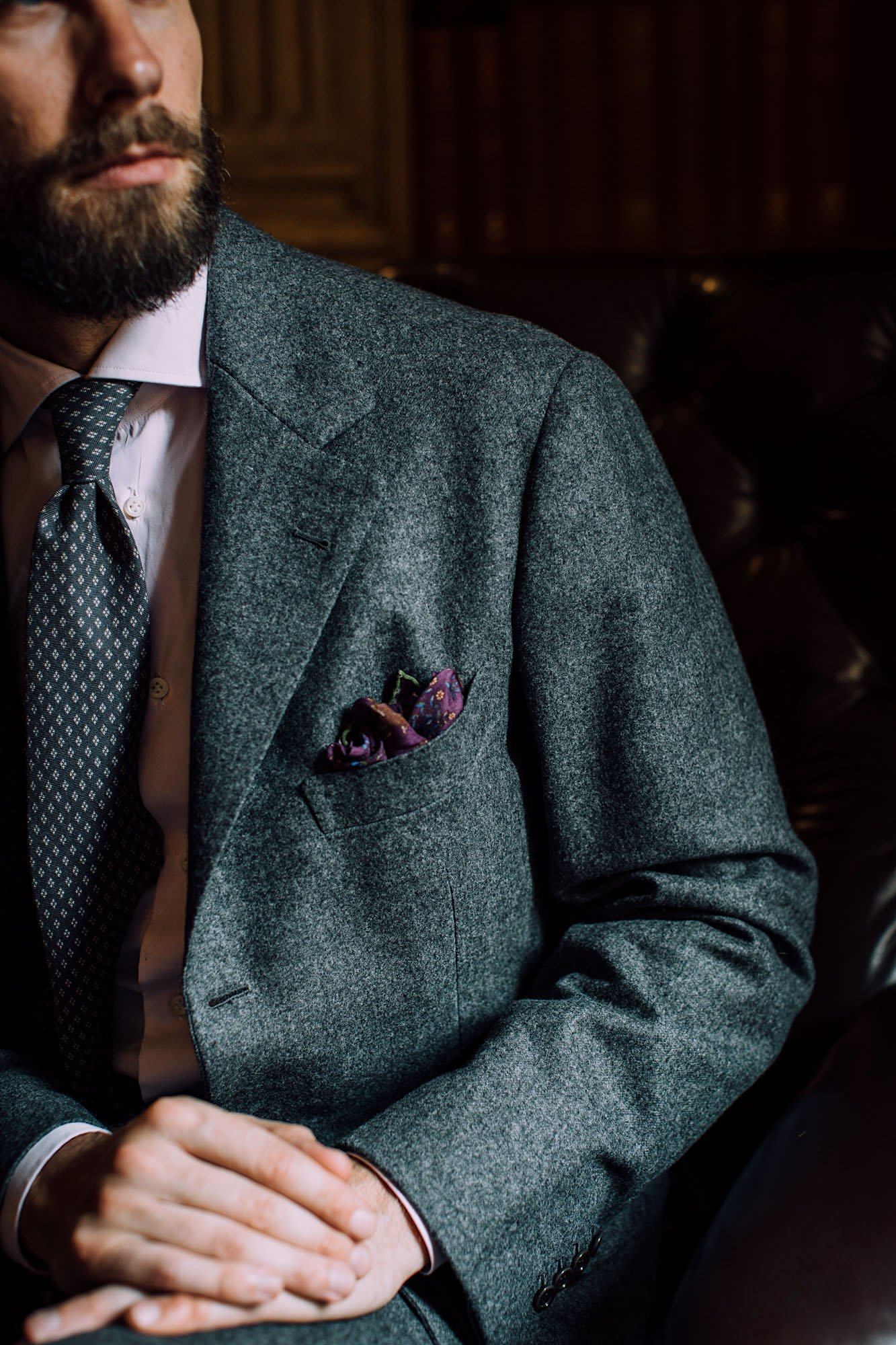be840d13a6f58 Sartoria Panico grey-flannel suit  Review – Permanent Style