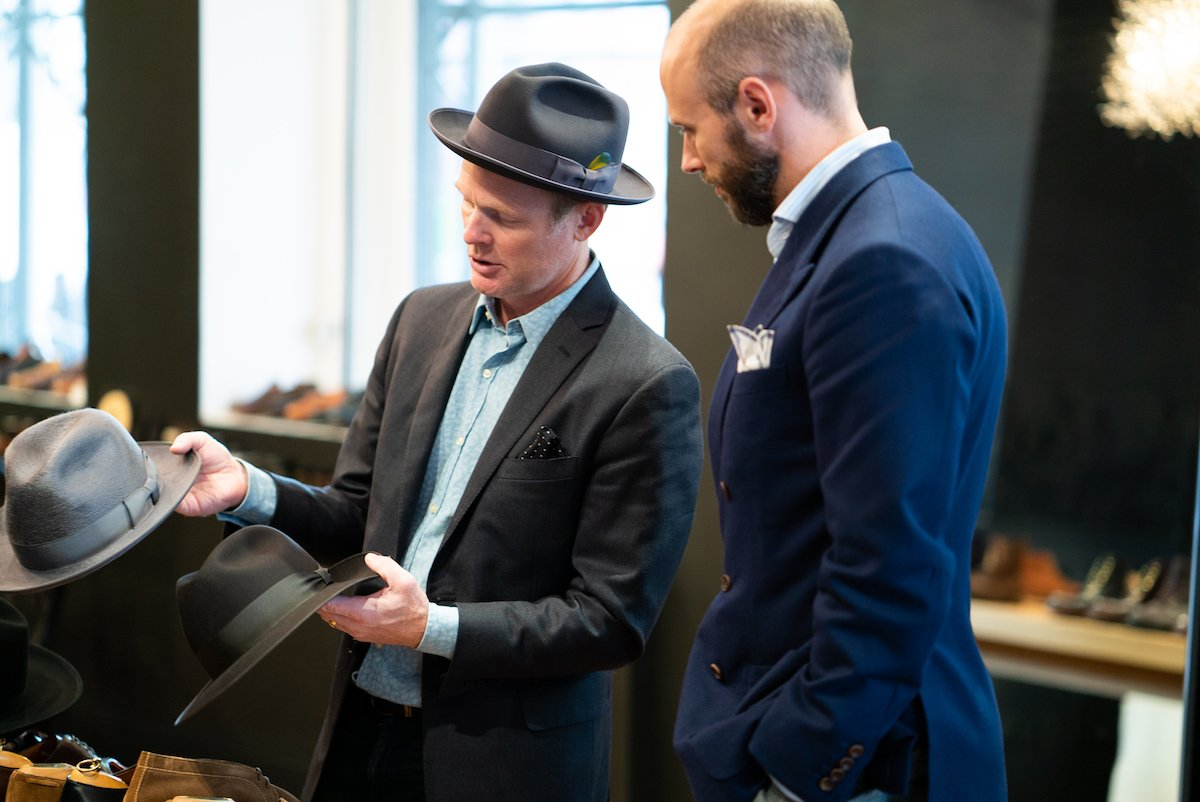 af9ea370 Optimo makes fur-felt dress hats and panamas - there are no stiff Western  models, or modern designs with odd finishes and matchsticks stuck in them.