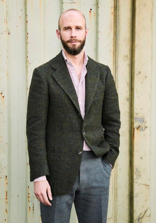 17f85521 Ciro Zizolfi bespoke tweed jacket: Review – Permanent Style