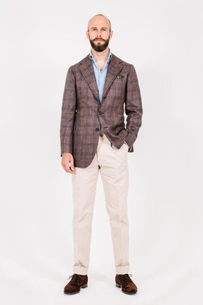 The summer jacket and chinos