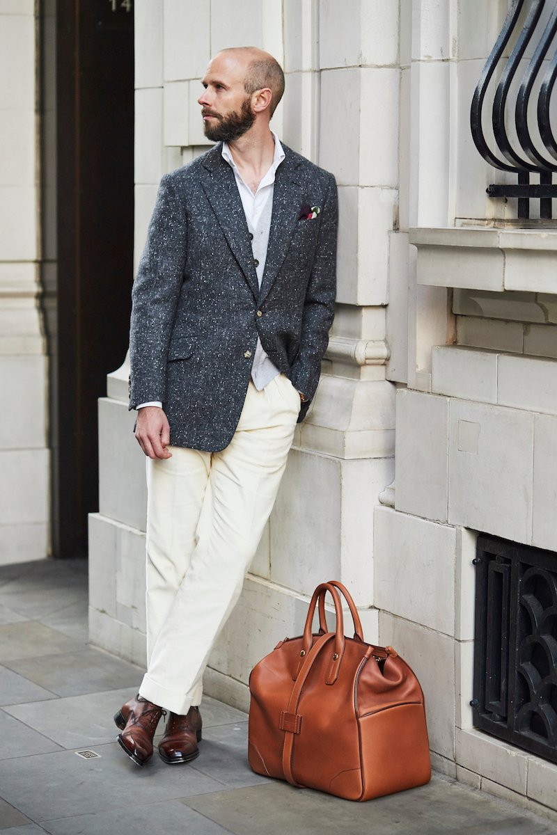 The Rules And How To Break Them 9 Tan Shoes With Pale Trousers Permanent Style