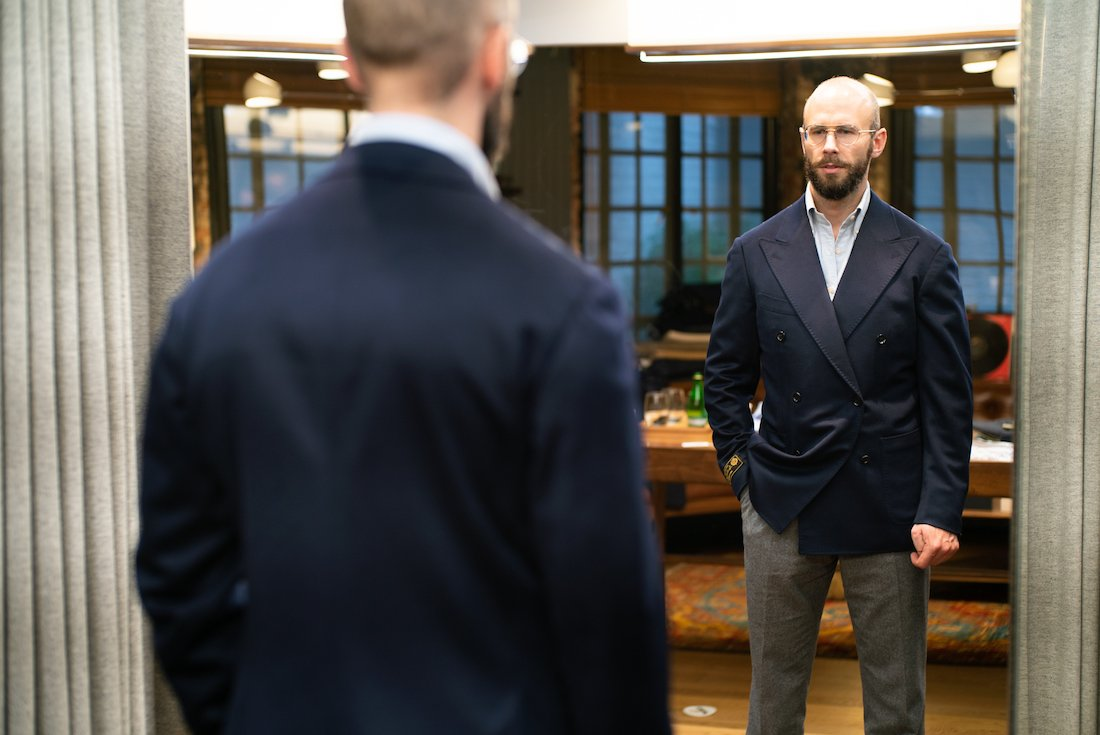 2f68d1b57b2a7a But made-to-measure requires a Ring Jacket trunk show, which take place in  both New York and Hong Kong stores.