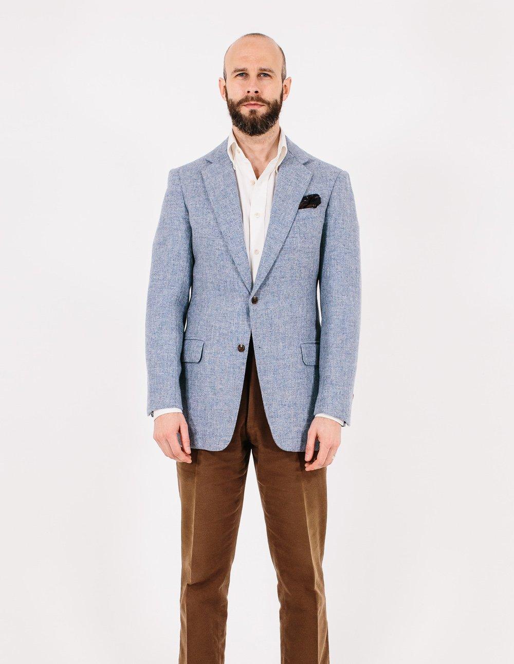 uudet tarjoukset online jälleenmyyjä miten ostaa Steven Hitchcock tweed jacket: Style Breakdown – Permanent Style