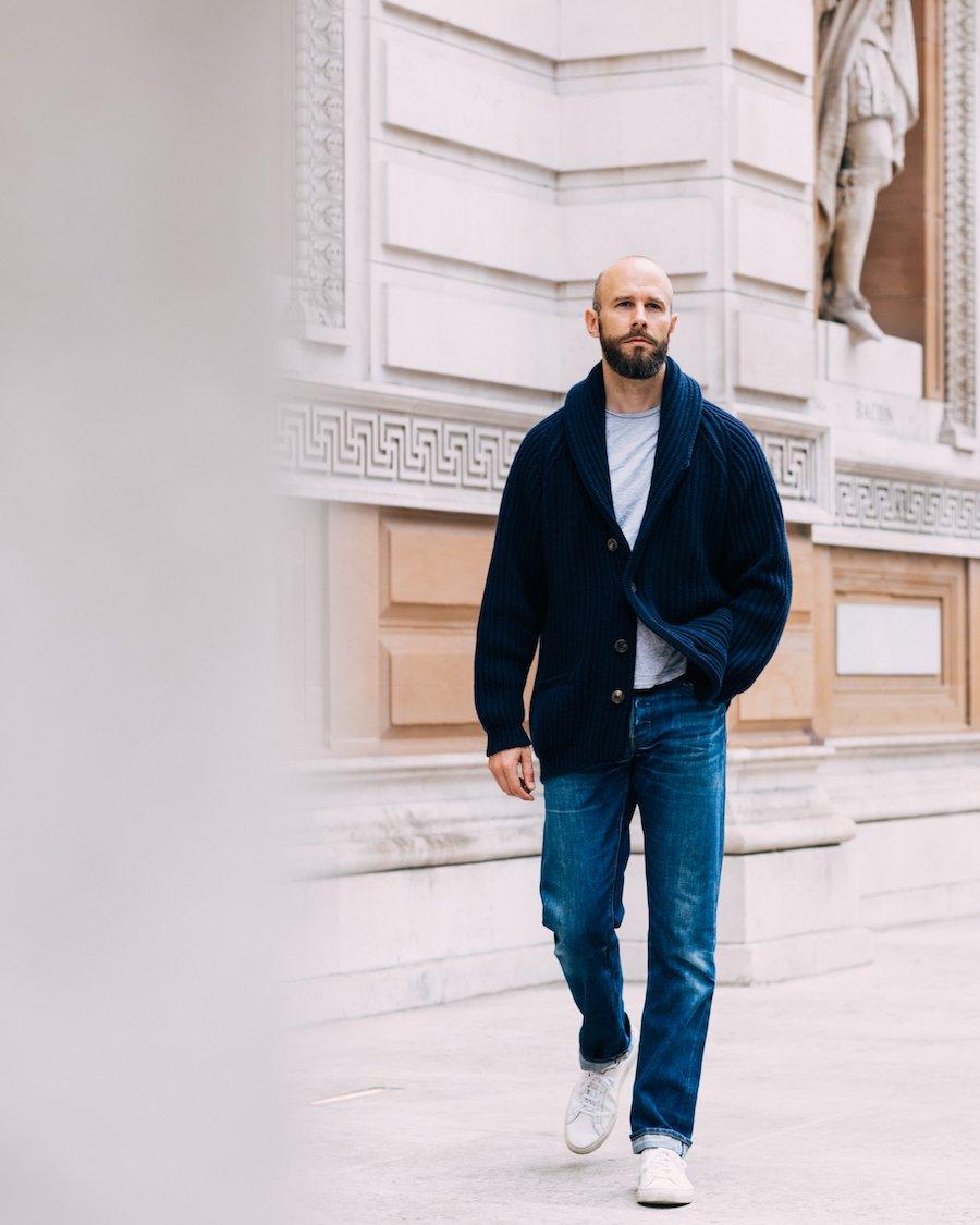 Introducing: The indulgent shawl collar cardigan – Permanent