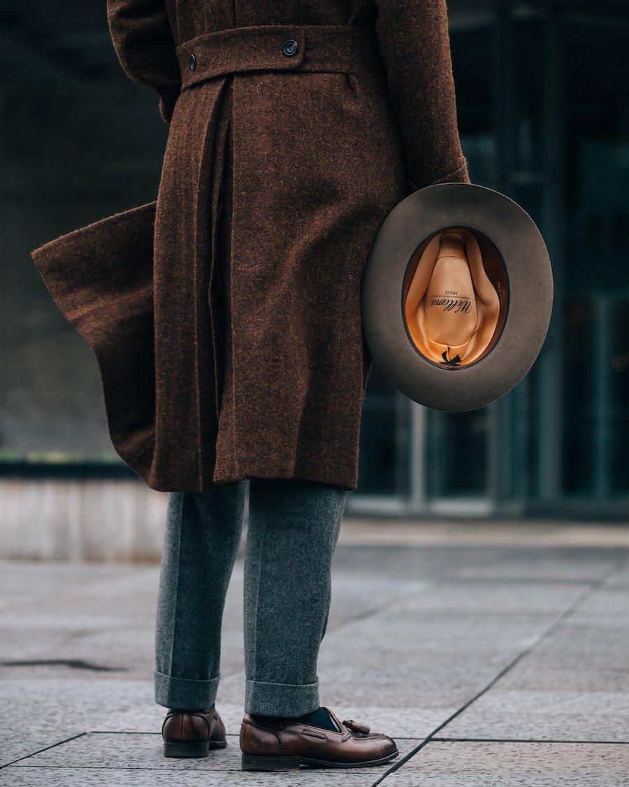Tweed, felt, calf, flannel