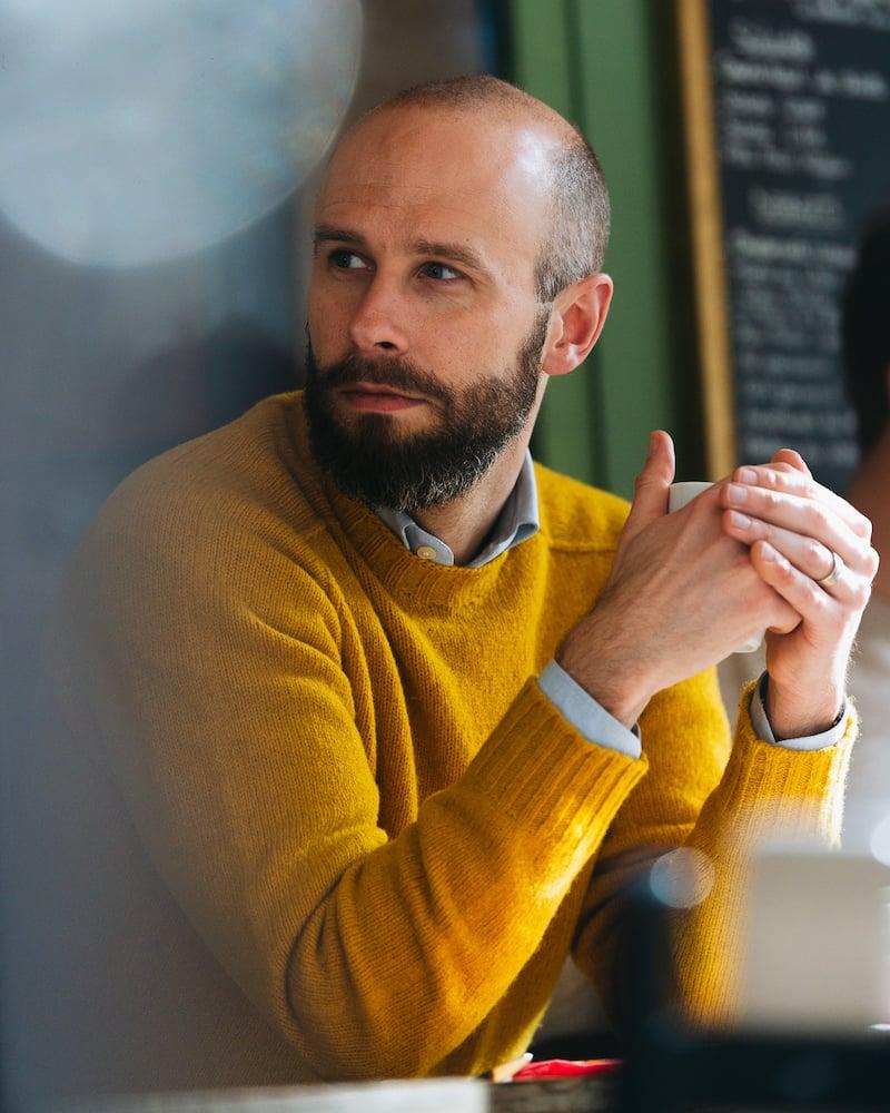 The bright shetland sweater
